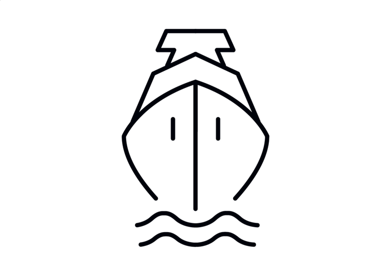 Ship blue logo