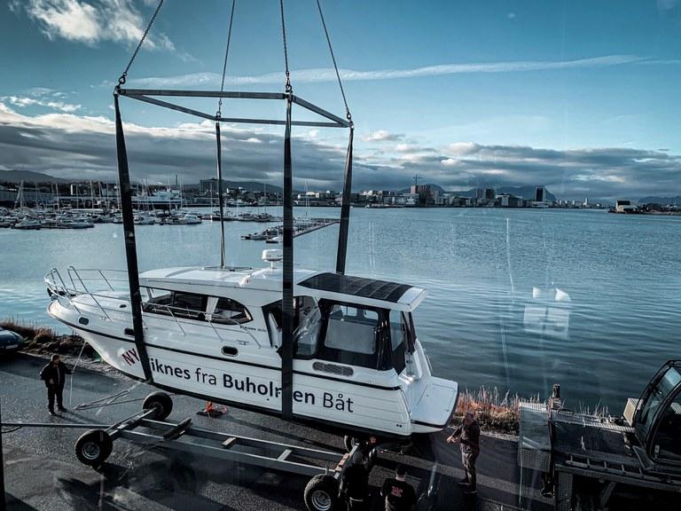ny båt